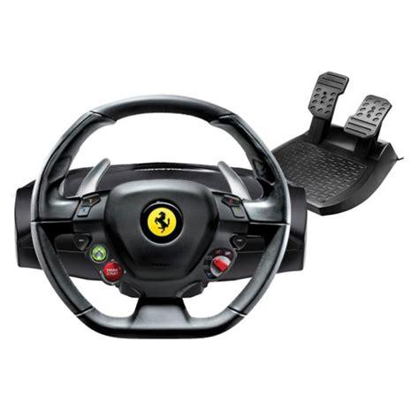 thrustmaster 458 italia racing wheel