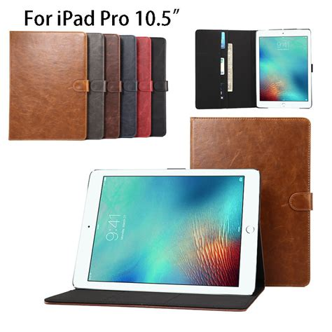 Apple Pro 10 5 Protective Shell Smart Cover Pu Leather Back 2 luxury business pu leather for apple pro 10 5 quot a1701 smart cover tablet
