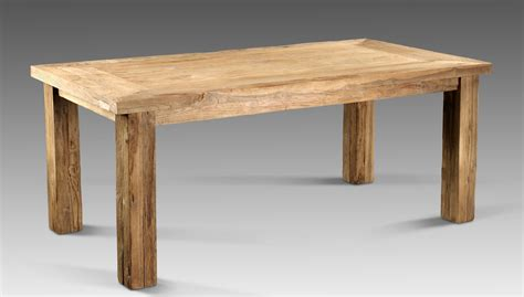 rustikale tische massivholz en casa esstisch und stuhlset oslo antik 160 215 90 6