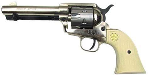 Peacemaker 22 Caliber Blank Firing 1873 peacemaker 6mm blank gun silver ivory grips