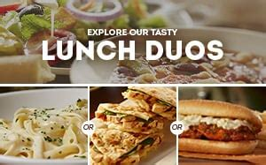 Lunch Specials Olive Garden - pronto lunch menu item list olive garden italian restaurant