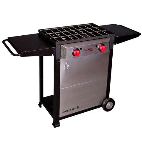 Outdoor Cooktop Propane Shop Camp Chef Somerset Ii 34 In 2 Burner Propane 20 Lb