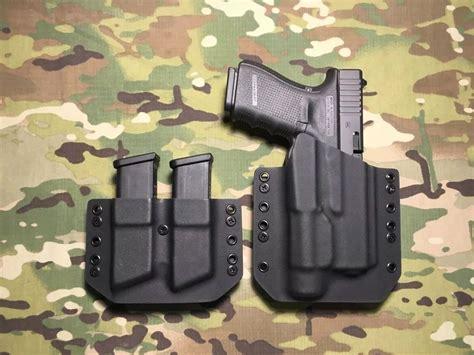 kydex holster for glock 19 with light black kydex glock 19 23 32 with streamlight tlr 1 tlr 1hl