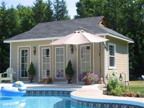 Pool House Shed Plans by Pool Houses Become The Second Home In Your Backyard