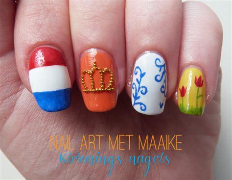 nail art tutorial nederlands veracamilla nl koninginnedag