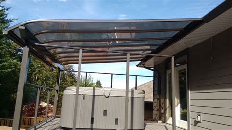 hot tub awnings awnings and canopies