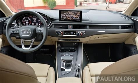 audi a4 b9 interior driven b9 audi a4 handsome suit inner