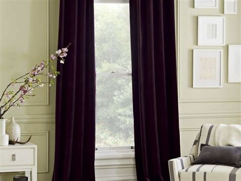 dark purple curtains drapes dark purple velvet curtains west elm 100 each these