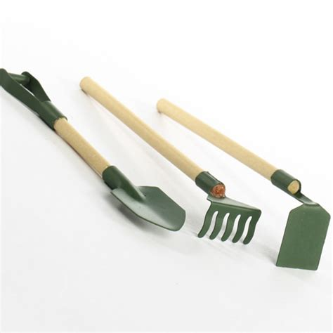 gardening tools miniature garden tools brooms shovels basic craft