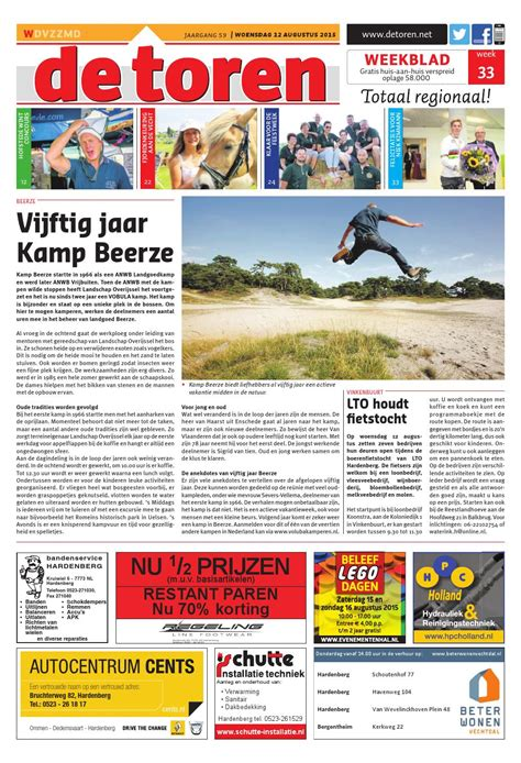 De Toren Week 50 2015 By Weekblad De Toren Issuu by De Toren Week 33 2015 By Weekblad De Toren Issuu