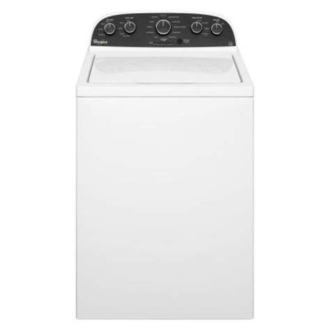 whirlpool 3 6 cu ft high efficiency top load washer in