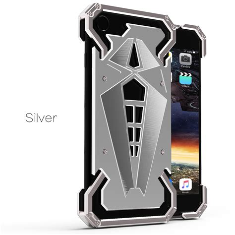 Iphone 6 6s Original Metal Shell Of Cool Metal Thor Cover Casing cool aluminum tough armor spider metal cover for iphone 5 6 6s plus 7 ebay