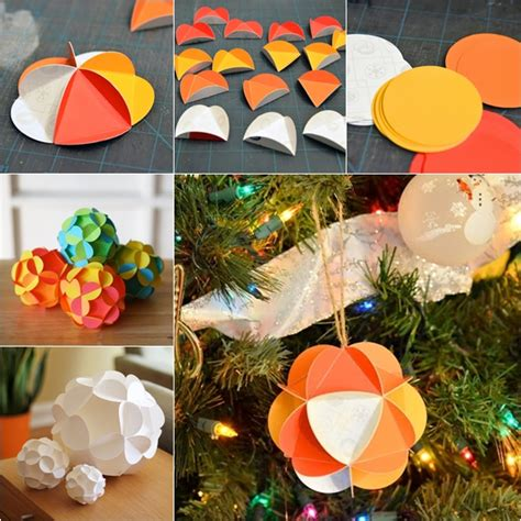 3d Decorations To Make Out Of Paper - wonderful diy pretty 3d paper ornaments