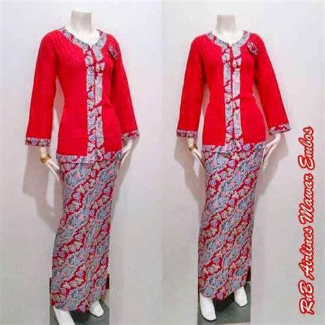 Bn014 Kain Setelan Kebaya Batik Embos Kain Batik Pekalongan model baju batik setelan wanita terbaru baju batik modern dan terbaru