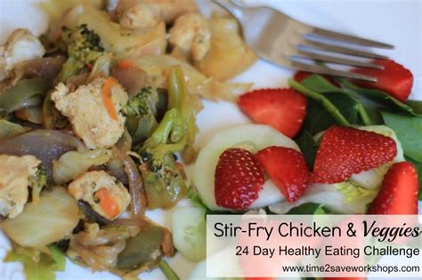 advocare 24 day challenge dessert recipes stir fry chicken and veggies recipe time 2 save workshops