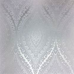 Country Decor For Home grandeco kismet silver wallpaper a17703