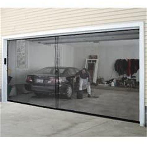 Garage Door Bug Screen Two Car Garage Bug Insect Pest Screen Door Cover