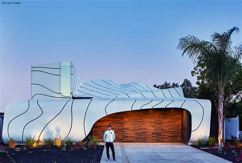 The Wave House by The White Aluminum Wave House By Mario Romano In Venice