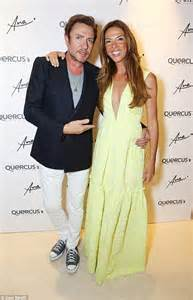 Yasmin le bon joined by husband of 30 years simon for wimbledon party