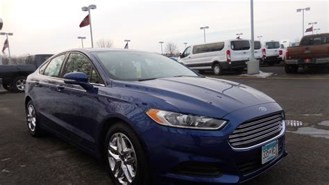 ford fusion se  cyl fwd elk river ramsey