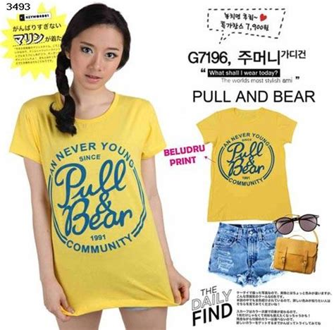T Shirt Kaos Wanita Lengan Pendek Yellow Bello Minion 1 jual kaos t shirt st yellow auroraku
