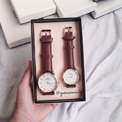 Jam Daniel Wellington jam daniel wellington set leather for on carousell