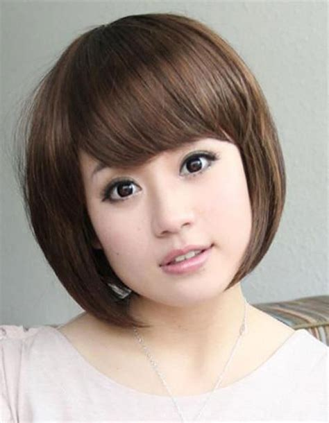 hairstyle for round face japanese hairstyle for round chubby asian face hair pic hair
