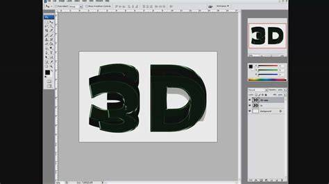 tutorial photoshop cs5 3d text how to make a glossy 3d text with photoshop cs3 cs4 cs5