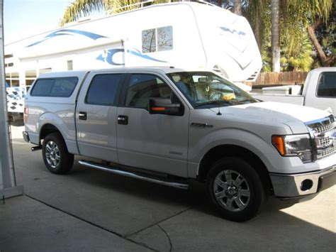 Show pics of camper shell on 2012 f150 lariat   Ford F150