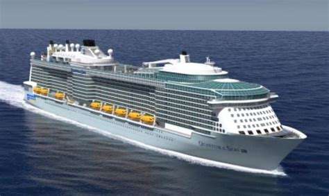 royal caribbeans newest ship kfw ipex bank finances new quantum class cruise ship