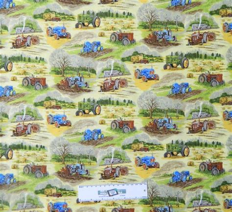 Patchwork Farm - farmyard themed fabric