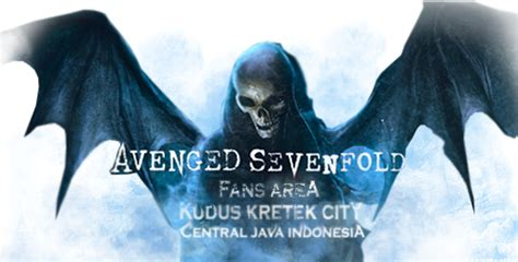 Kaos Avenged Sevenfold 06 Raglan avenged sevenfold fans area kudus kretek city