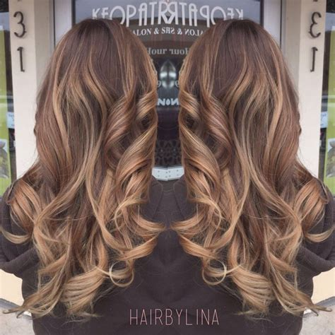 Light Brown Balayage by Balayage With Light Brown Hair