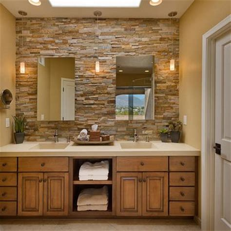 stone bathroom design ideas stacked stone bathroom ideas for the home pinterest