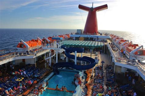 paradies decken carnival paradise 5 day cruise from ta pandatrot