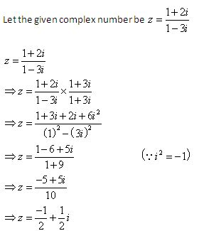 tutorial questions on complex numbers how to decide argument on the basis of quadrants like in