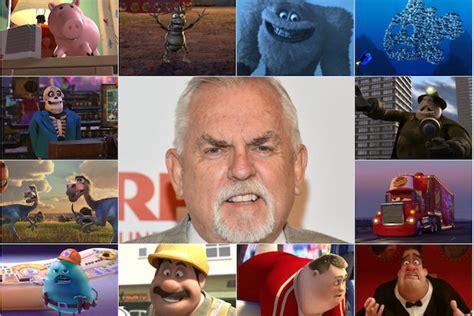 pixar character voiced  john ratzenberger