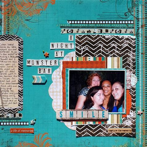 174 Best Images About Scrapbook Layouts Friends | 174 best images about scrapbook layouts friends