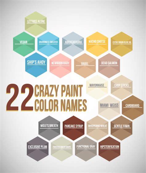 paint color names 22 crazy paint color names mccamy construction