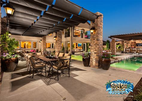 Patio Backyard Ideas Backyard Design Ideas Splash Pools And Construction