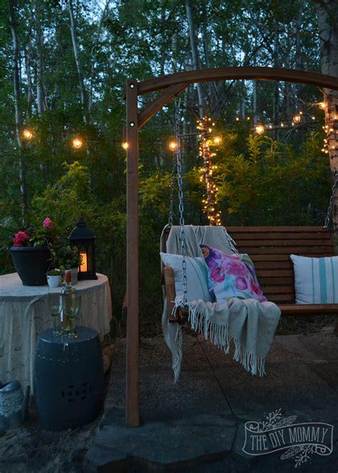 swing in backyard garden swing plans for the backyard backyard swings and swings chsbahrain com