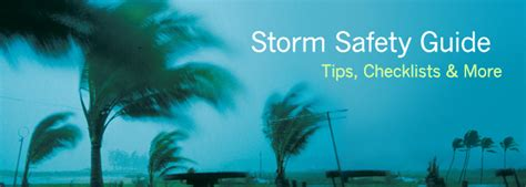 Weather Alerts & Hurricane Preparedness   Storm Safety