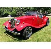 Kit Cars It Is A Beautifull Car/Replica Of 1952 MG TD Conve