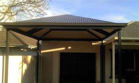 hip roof verandah carport pergola  patio