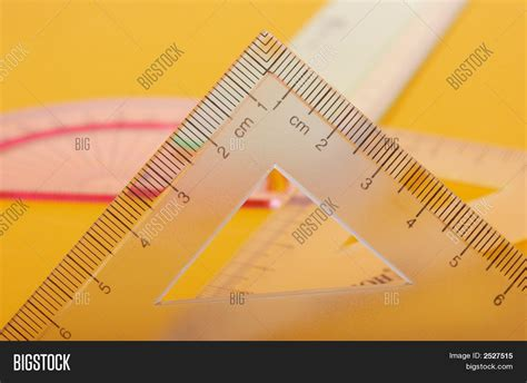 printable geometric ruler geometric ruler image photo bigstock