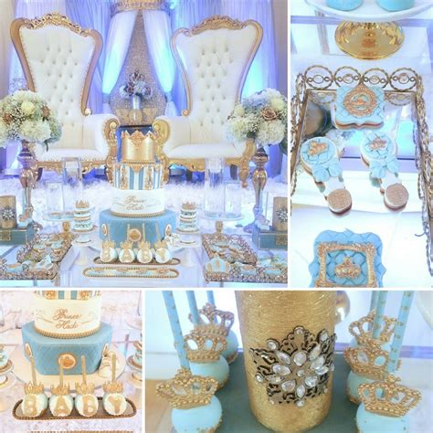 Prince Baby Shower Ideas by Crown Prince Baby Shower Baby Shower Ideas Themes