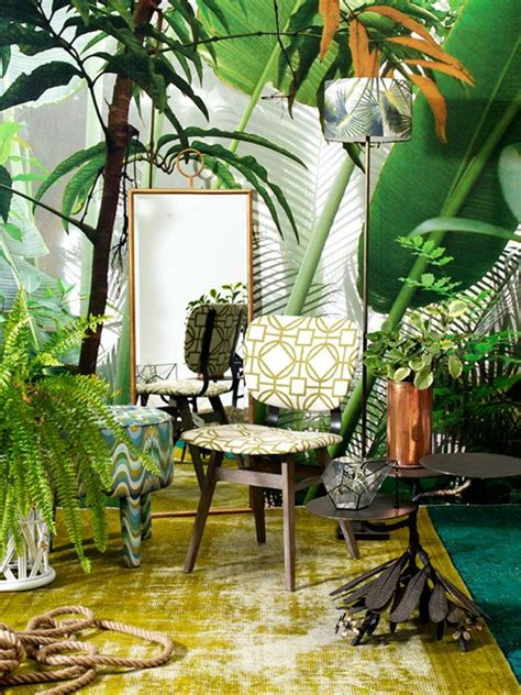 17 best ideas about tropical interior on retro
