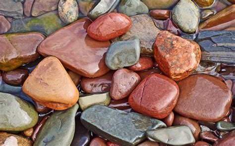 colorful rocks wallpaper sea stones desktop wallpapers free on latoro com