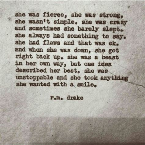 she was the stuff of poetry for the broken soul books who is r m