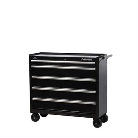 husky 41 quot w 5 drawer tool cabinet from home depot for 149 50